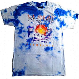Def Leppard Pyromania Tie Dye B&T T-Shirt 2X NWT